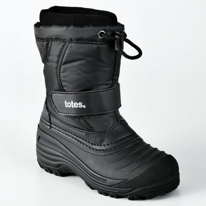 Kohls Boys Boots Deal Totes Kids Winter Ski Boots $16.58 Shipped!  (Reg $64.99)