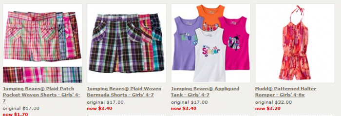 Kohls Deal *Super Hot*  Kohls Clearance!  90% off + Extra 20% off and FREE Shipping!  Items start at $1.00!