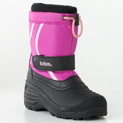 Kohls Girls Boots Deal Totes Kids Winter Ski Boots $16.58 Shipped!  (Reg $64.99)
