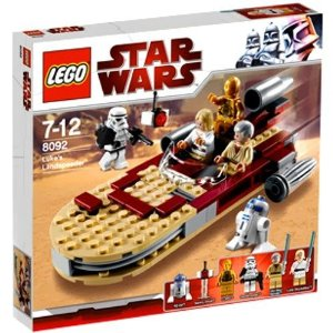 Lego Star Wars Deal Lego Star Wars Lukes Landspeeder $24.97