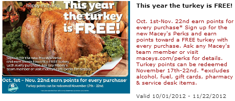 Maceys free turkey Deal Best Maceys Deals 10/1 – 10/6