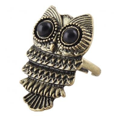 Owl Ring Vintage Owl Ring $.85 Shipped!  Plus Other Amazing Jewelry Deals