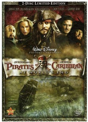 Pirates of the Carribean Pirates of the Caribbean: At Worlds End $5.34! (reg $34.99)
