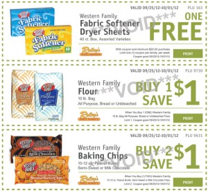 RIDLEYS eblast coupons 300x276 Ridley's Family Market Weekly Deals: September 25   October 1 (FREE Dryer sheets!)
