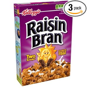 Raisin Bran Deal Awesome Cereal Deals on Amazon!  $1.74 each Shipped FREE!