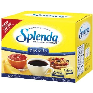 Splenda Splenda 400 Count Packets $6.75 Shipped!