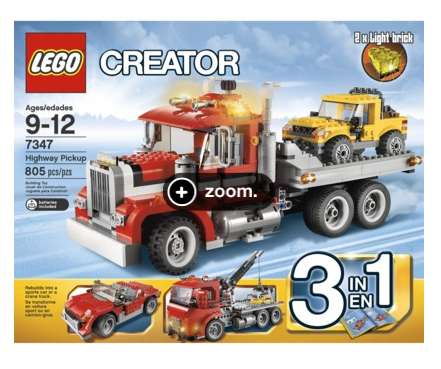 Target Lego Deal *Hot*  LEGO Creator Highway Pickup $58.99 Shipped (Reg $80)