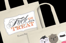Tot Bag Deal Super Cute Personalized Halloween Totes only $7.52 Shipped!