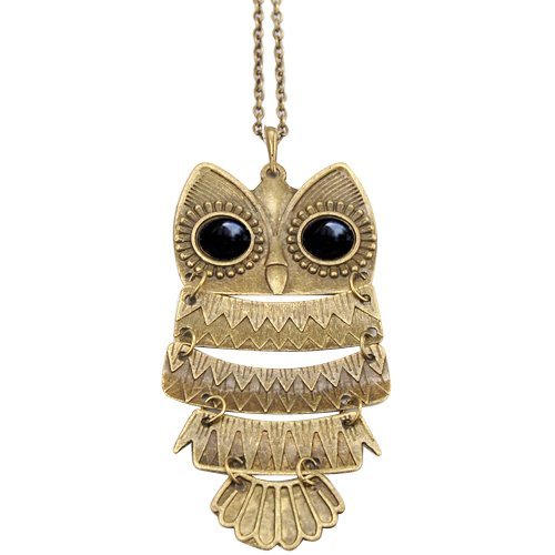 Vintage Owl Pendant Vintage Owl Ring $.85 Shipped!  Plus Other Amazing Jewelry Deals