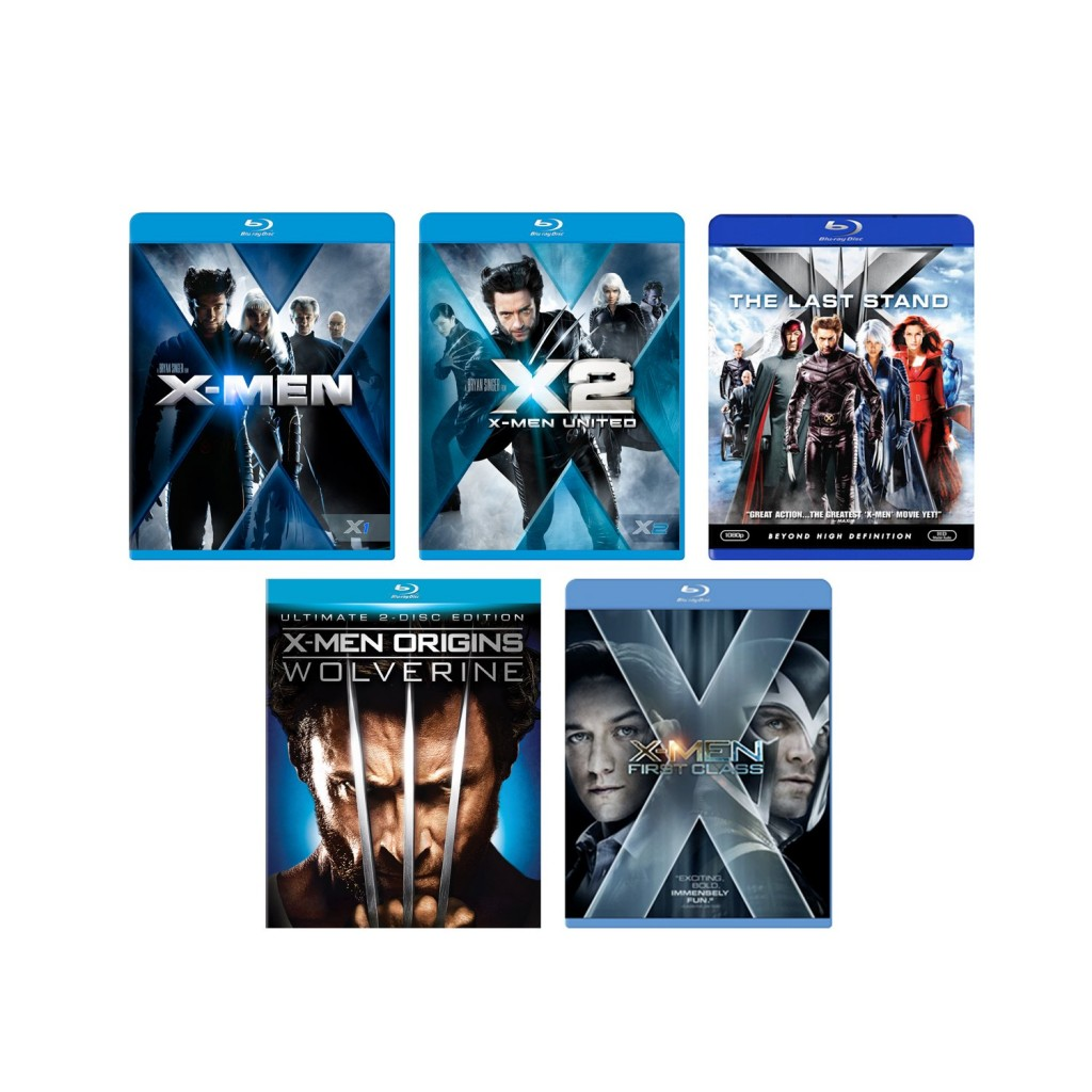 X Men Blu ray Deal 1024x1024 X Men Blu ray Deals.  Starting at $7.67 each Shipped!