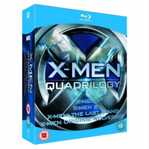 X Men Quadrilogy 300x300 X Men Blu ray Deals.  Starting at $7.67 each Shipped!