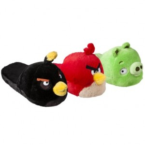 angry bird slippers 300x300 Cute Angry Birds Slippers: $11 14 Shipped!