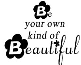 be your own kind of beautiful Giveaway: Wall Graffiti Vinyl Lettering *THREE Winners*
