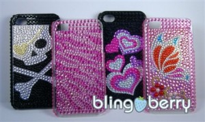 blingberry 300x179 Designer iPhone Case for iPhone 4 or 4s: $13 Shipped!