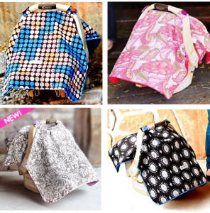 car seat canopy images 296x300 Its Back! FREE Car Seat Canopy! Just  pay $12.95 Shipping. CUTE Designs!