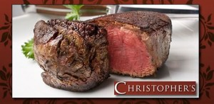 christophers 300x147 Christophers Prime Steak House & Grill: $20 for $40 Voucher! (Salt Lake & Draper)