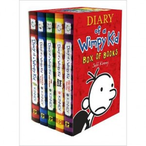 diary of a wimpy kid 300x300 TODAY ONLY: 10% Off & FREE Shipping on Books at Target! Diary of a Wimpy Kid Box Set for $35.10!
