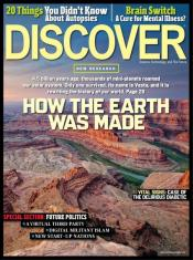 discover magazine Discover Magazine: Just $4.99/Year (80% Off   Today Only!)