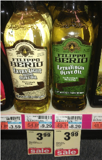 fillipo $1/1 Filippo Berio Olive Olive = $2.99 $3.75!