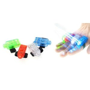 finger lights 40 Super Bright Finger Flashlights: $6.63 Shipped!