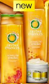 herbal essences FREE Sample   Honey I am Strong sample by Herbal Essences
