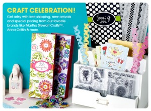 hsn craft celebration 300x221 Get $5 off $25 Craft Purchase at HSN! Plus LIVE Craft Celebration Event!