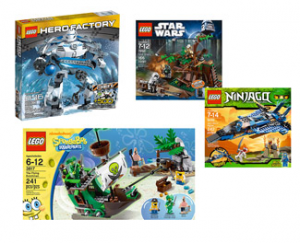 lego playsets 300x243 LEGO Rollback! Starts at $19.97!