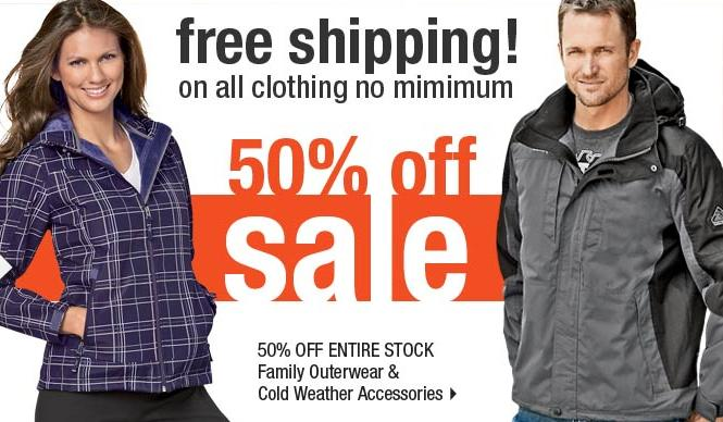 outerwear sale ShopKo: 50% Off and FREE Shipping Outerwear & Cold Weather Accessories!
