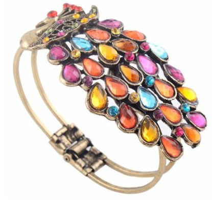 peacock bangle Peacock Bangle $1.59 shipped