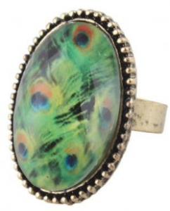 peacock ring 242x300 Vintage Owl Ring $.85 Shipped!  Plus Other Amazing Jewelry Deals