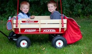 radio flyer 300x177 Radio Flyer Build A Wagon Only $48!