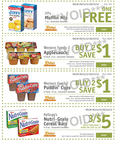ridleys ecoupons Ridley's Family Market: Weekly eCoupons for September 11 17 (FREE Jiffy Muffin Mix!)