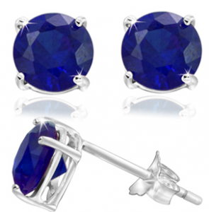 september birthstone 295x300 Sept. Birthstone (Saphirre) 2 ct earrings   $5.99 shipped