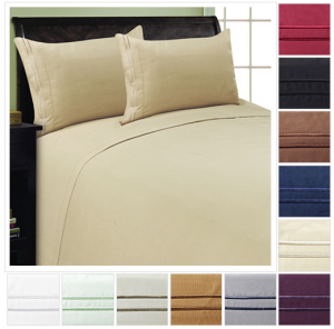 sheet set deal 300x296 ***TODAY ONLY***Luxury Sheet Set in Full, Queen, King or Cal King   12 Color Options! Only $22.98 Shipped!
