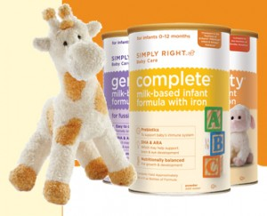 simply right sample 300x243 FREE Sample of Baby Formula!