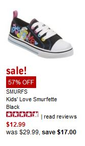 smurfs NEW Famous Footwear Coupon! 15% Off!