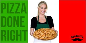 spedellis 300x150 $7 for $14 to Spend at Spedellis Pizza Place and Sandwich Shop! (Salt Lake)