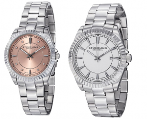 stuhrling watches 300x243 Mens & Womens Stuhrling Swiss Quartz Stainless Steel Watches: Only $49.99 Shipped!