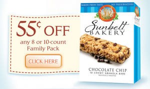 sunbelt bakery coupon 300x178 Sunbelt Bakery Printable Coupon! $0.55/1 Box Granola Bars + Walmart Deal!