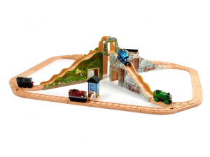thomas set 300x225 ***UPDATE*** Thomas & Friends 40 Piece Wooden Train Set: $79.99! (Regularly $150)