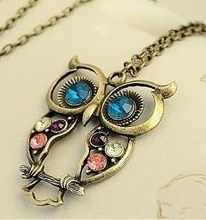 vintage owl charm necklace Vintage Owl Ring $.85 Shipped!  Plus Other Amazing Jewelry Deals