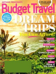 Today Only Budget Travel Magazine Only 3 50 Year Get Up To 3 Years Utah Sweet Savings