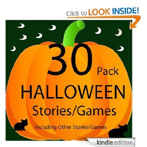 Halloween Stories and Games Deal Fun Halloween Book Only $.99