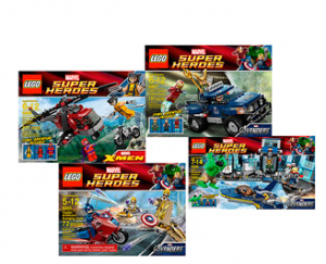 LEGO Marvel Super Hero 300x243 Walmart.com: LEGO Marvel Super Heroes 4 Pack Bundle!