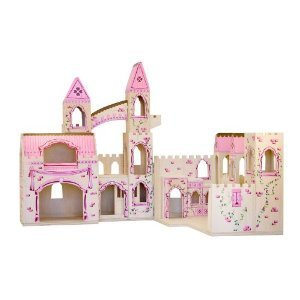 Melissa Doug Castle Melissa & Doug Deluxe Wooden Folding Princess Castle $47.50 Shipped! (Reg $99.99)