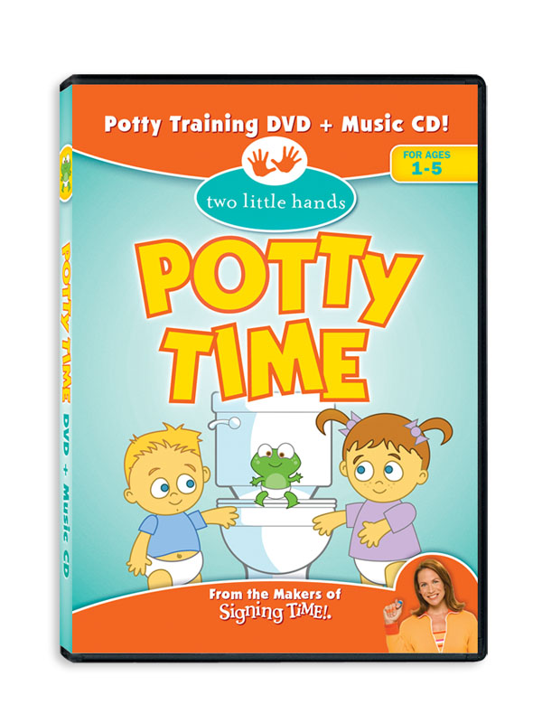 Potty Time Giveaway:  Potty Time DVD and CD!  *Read Our Potty Training Story*