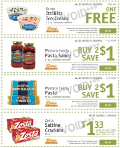 Ridleys weekly ecoupons 244x300 Ridley's Family Market Weekly Deals: October 2 8 (CASE LOT SALE!!! Plus FREE IttiBitz Ice Cream!)