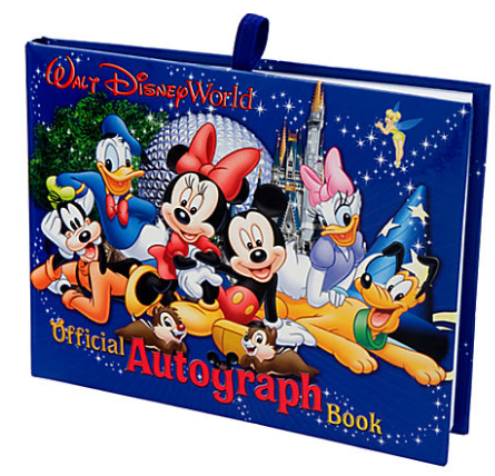 autograph book Disney Park Merchandise 25% off (Great if you are planning a trip this next year!)