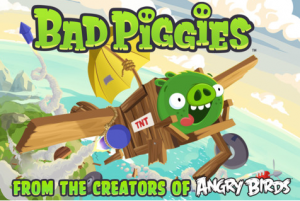 bad piggies 300x201 Bad Piggies App! Only $0.99!