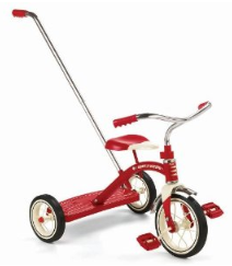 bike with handle Radio Flyer Bike $47.97 (reg $90)